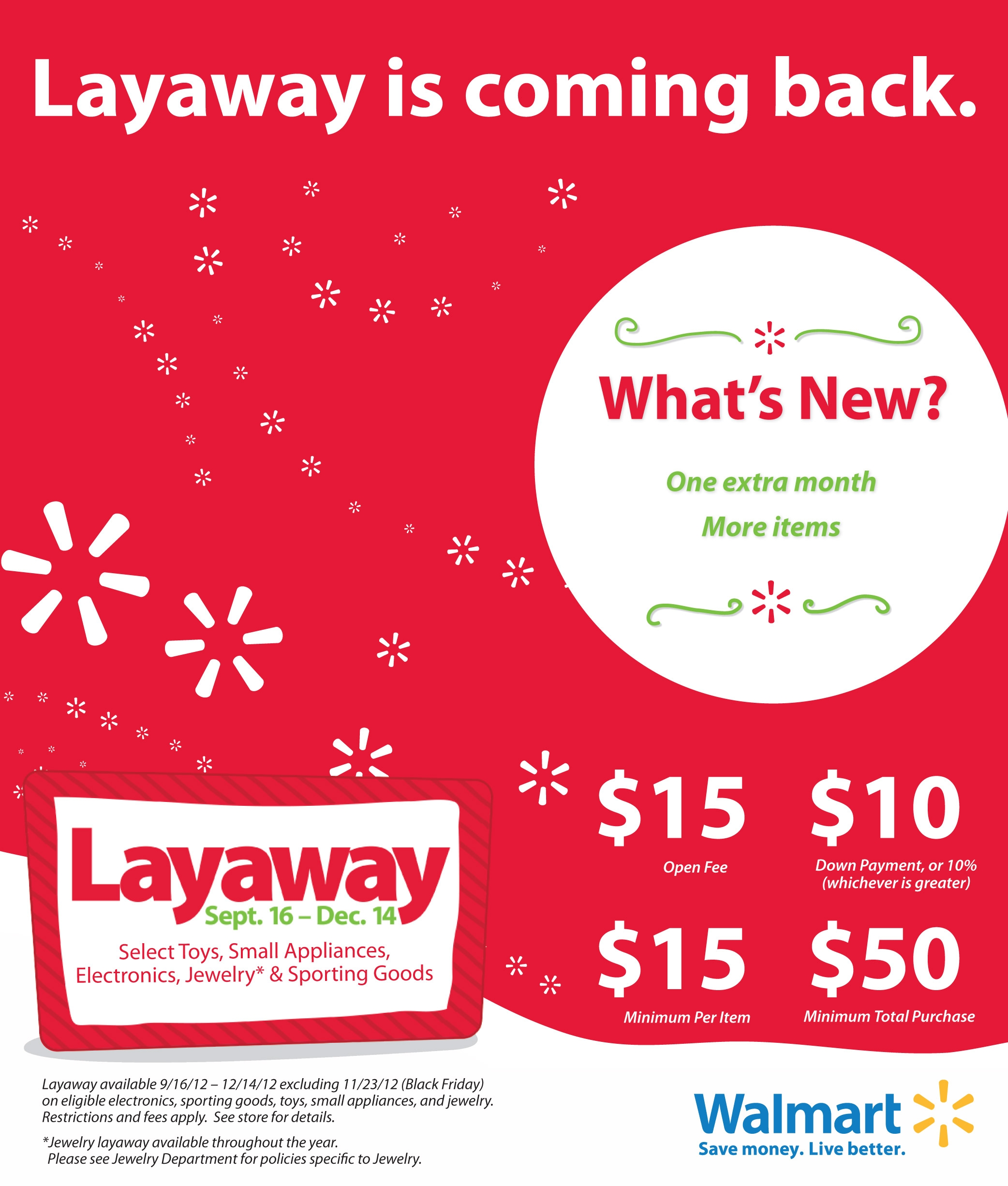 christmas layaway is back and better at walmart